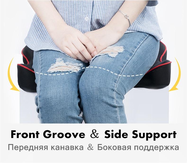 HTB1CXVLbBGE3KVjSZFhq6AkaFXaG PurenLatex Memory Foam Caudal Vertebra Protect Orthopedic Chair Pillow Coccyx Cushion Pad Car Seat Mats Prevent Hemorrhoid Treat