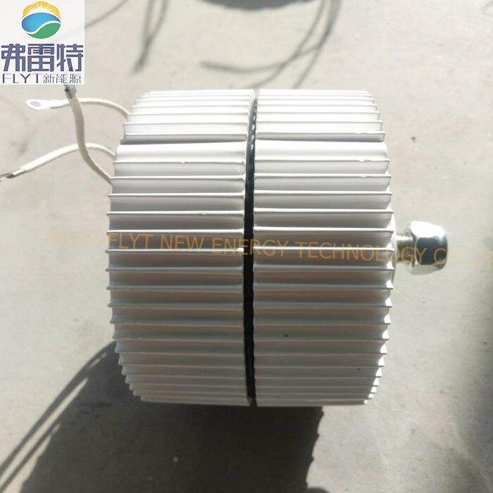 400 w 12 v horizontal générateur à aimant permanent bas régime faible couple de démarrage avec contrôleur gratuit