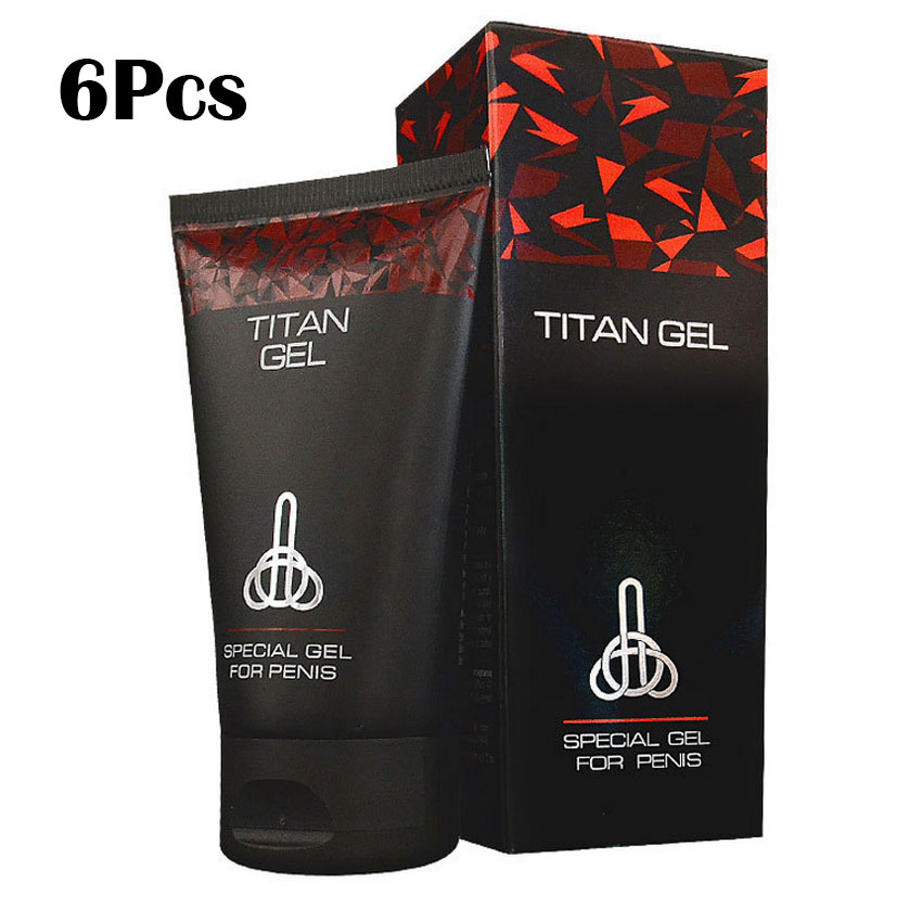 6 Pcs Imported Russian Titan Gel 50ML, P