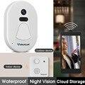 VSTARCAM D1 wifi дверной Звонок камера 720 P wifi умная камера зритель домашняя система безопасности широкоугольный цифровой сигнал дверной звонок ко...