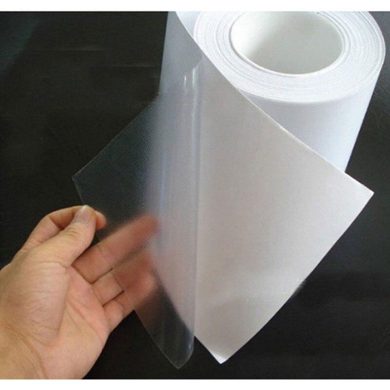 Dropshipping 10x300cm pvc película protetora carro pára-choques capa pintura proteção adesivo anti risco transparente filme
