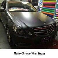 Grey Matte Chrome Vinyl Car Wrap Film 1 52 20M Roll 5ft X 65ft With Air