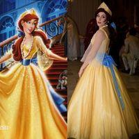 Russia Anastasia Princess Cosplay Dress Costume Stage Christmas Fancy Dress Gift