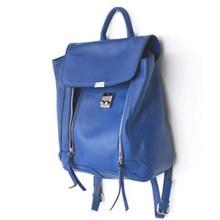 Мода 2017 г. тенденция двойной молнии женщины рюкзак искусственная кожа женские школьная сумка Высокое качество элегантная сумка