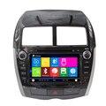 Wince 6.0 dvd-плеер автомобиля для mitsubishi asx lancer с GPS навигации bluetooth поддержка управление рулевого колеса RDS IPOD