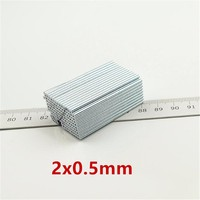 1000pcs Mini Small Magnet 2*0.5 mm Strong Round Magnets Dia 2x0.5 mm Neodymium Magnet Rare Earth Magnet Precision Small 2*0.5