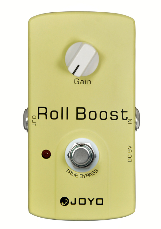 JOYO JF-38 Electric Guitar Effect Pedal Roll Boost Drive Audio True Bypass 35dB Boost joyo 9v dc roll boost guitar effect pedal jf38
