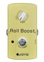 JOYO JF 38 Electric Guitar Effect Pedal Roll Boost Drive Audio True Bypass 35dB Boost