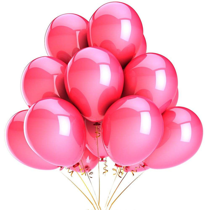 10Pcs 12inch Glossy Metal Pearl Latex Colorful Balloons For Birthday Party And Wedding 4