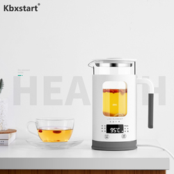 600ML Multifunction Mini Electric Kettle Health Preserving Pot Glass Boiled Teapot Hot Water Bottle Chaleira Travel Kettle 220V