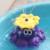 Envío Libre Regalo juguetes del baño del bebé Pulpo giratorio automático de rociadores y Ballena nadando juguetes WJ084