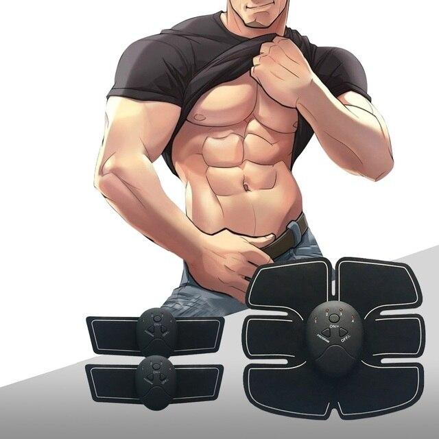 Músculo Abdominal Trainer Máquina Exercitador Aptidão Toner Muscular Eletrônico Braço Perna Exercício Toning Barriga Engrenagem Equipamentos de Ginástica