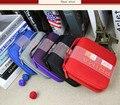 Moda Auto Car CD DVD Cartão Disk Caso Visor Titular Clipper Bag Organizador 5 Cores 32 CDs Dentro Carry Case