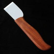 Free Shipping Leathercraft Tools Diy handmade leather cutting knife ceramic knife anti oxidation muleshoe