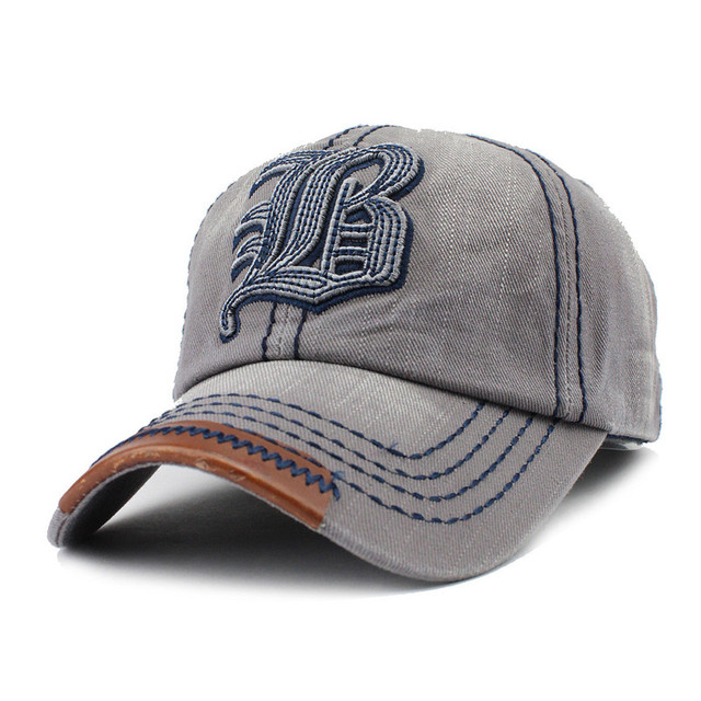 FLB  Cotton Embroidery Letter W Baseball Cap Snapback Caps Bone ... c565f381e3e4