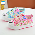 2017 0 to 3 years old baby girl soft bottom shoes newborn toddler shoes flowers kids canvas shoes children casual sport shoes