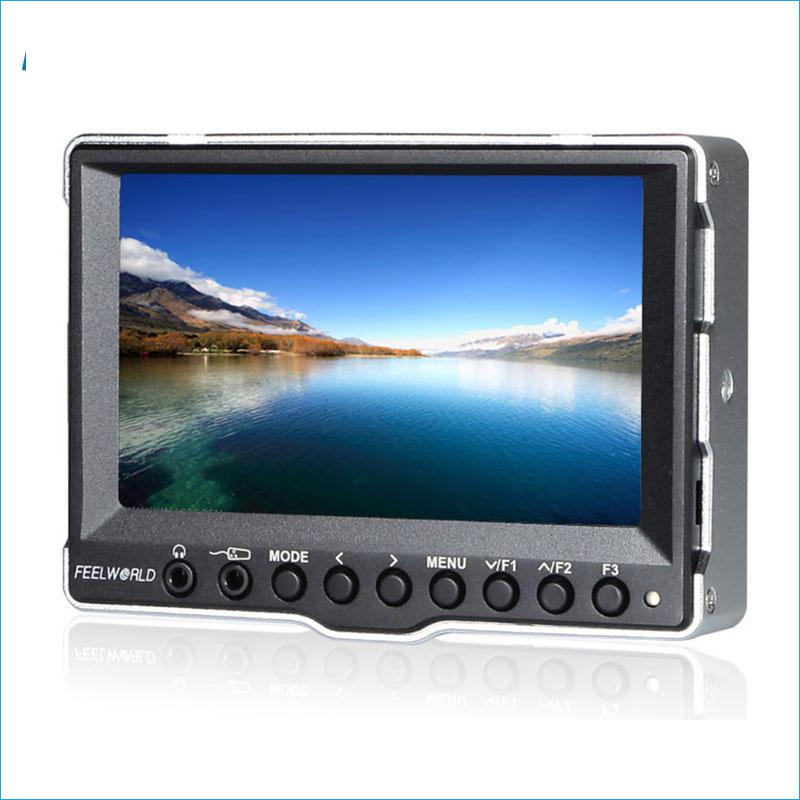 A5 5 Inch Monitor For Camera with 3G-SDI HDMI Input On Camera Field Monitor DSLR Photography Studio LCD Monitors