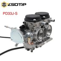 ZSDTRP 33mm Motorcycle Carburetor PD33J S For YAMAHA RAPTOR 660 660R YMF660 2001 2002 2003 2004 2005 UTV Racing Moto