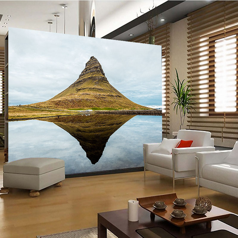 Custom Photo Wallpaper 3D Stereoscopic scenery painting Living Room Sofa Backdrop Wall Murals Wall Paper Modern Home Decoration custom 3d photo wallpaper murals hd cartoon mushroom room children s bedroom background wall decoration painting wall paper