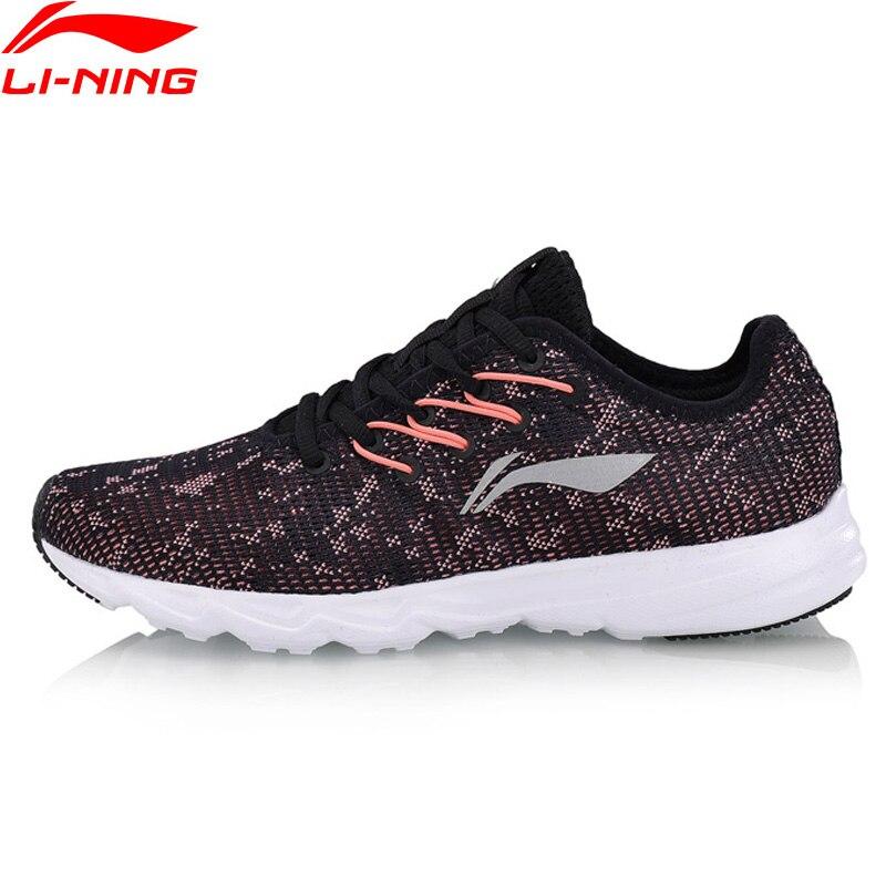 Li-Ning Women EZ RUN Running Shoes Light Weight Breathable LiNing Anti-Slip Sport Shoes Wearable Sneakers ARBN026 XYP667 цена