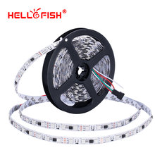 WS2811 UCS1903 16703 LED strip IP65 Waterproof 5M 300 Leds Rgb Full color 5050 Led strip DC12V flexible LED tape lights lighting(China)