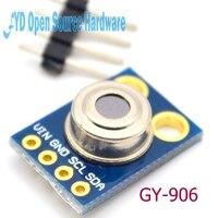 1 יחידות MLX90614 GY-906 ממשק iic מודול חיישן טמפרטורת אינפרא אדום ללא מגע
