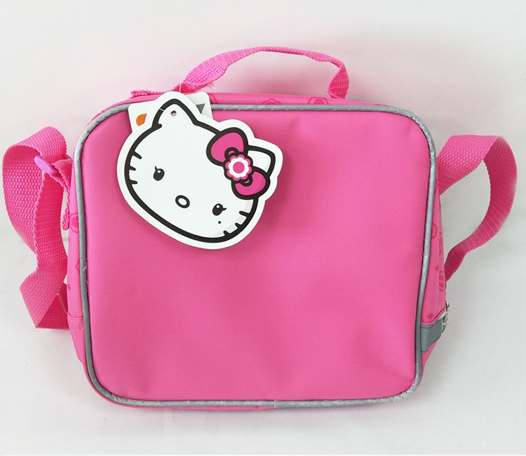 Cute Cartoon Pink O Kitty Lunch Bag For Kids S School Messenger Bags Box Lunchbag Children Picnic Food In From Luggage