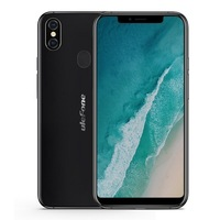 Ulefone X Cellphone MT6763 Octa Core 4GB+64GB Android 8.1 16MP Dual Rear Cam Face ID 3300mAh Wireless Charge 5.85 Inch Phone