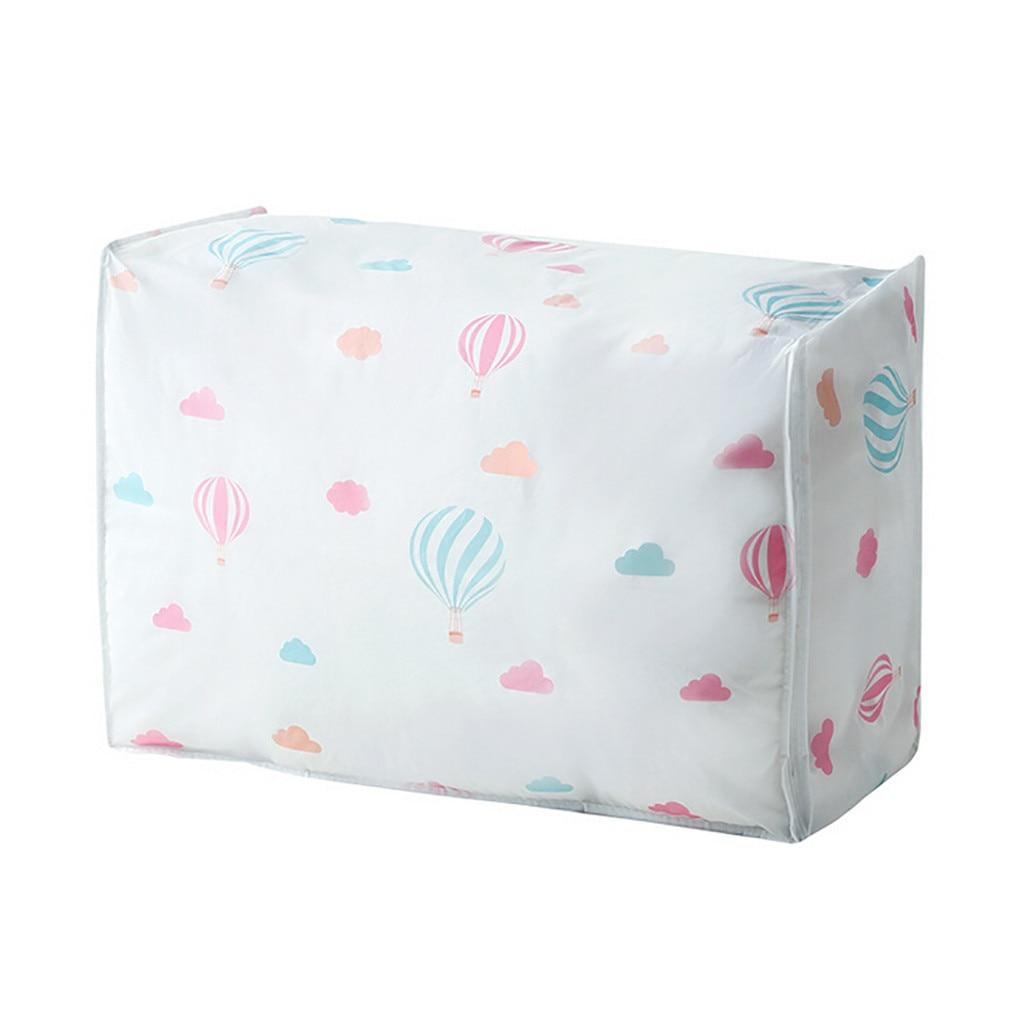 Складная сумка-хранилище, складной органайзер, сумка для одежды, одеяло, подушка, багаж, дышащий шкаф, органайзер, Прямая поставка - Цвет: C