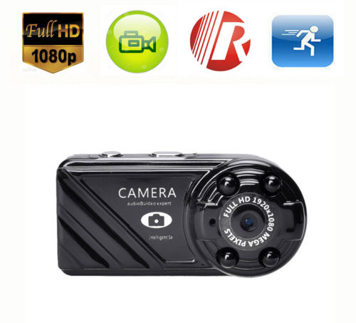 16gb Card+mini Camera Security Night Vision Cam Dv Mini Sport Dvr Full Hd 1080p 12mp To Be Renowned Both At Home And Abroad For Exquisite Workmanship, Skillful Knitting And Elegant Design