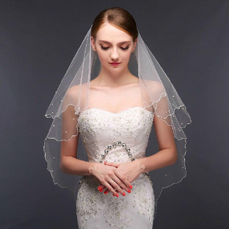 Styles Of Wedding Veils: LAN TING BRIDE One Tier Modern Style Bridal Princess