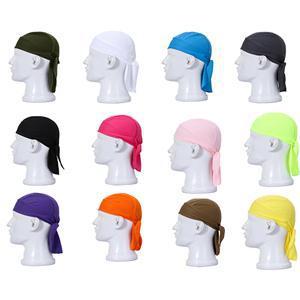 7 Color Casual   Skullies   Pirate Bandana Fashion Muslim Scarf Full Cover Inner Cap Islamic Hat Underscarf