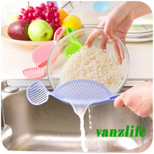 vanzlife upgrade utility no injured hand rice washing spoon tools fruits rice washing sticks creative kitchen supplies artifact