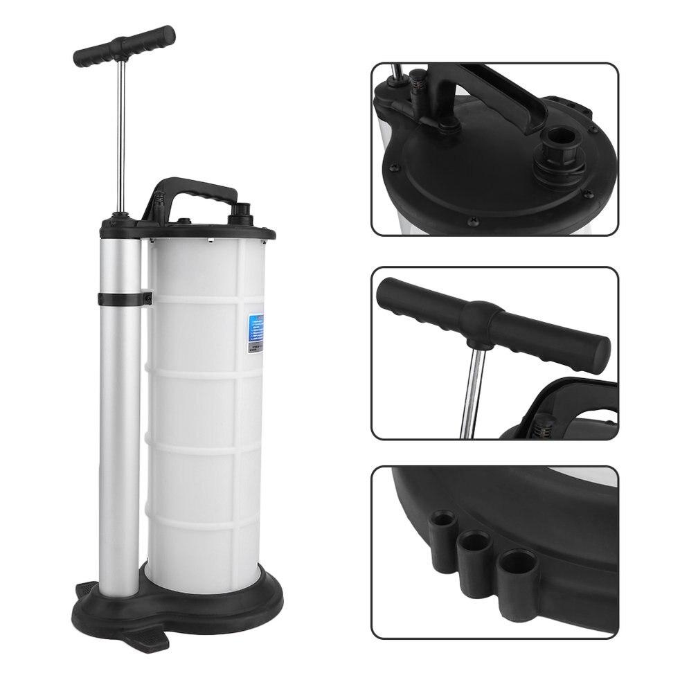 9L pompe à huile manuelle portable évacuateur de fluide échange pompe de transfert voiture Auto bateau moto pompe à huile offre spéciale