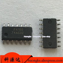 цены 10PCS/LOT 74AC02SCX silk screen 74AC02 patch SOP14 INSTOCK