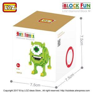 Image 4 - LOZ Diamant Blöcke Hund Modell Cartoon Tiere Spielzeug Set Action Figure Kunststoff Mirco Ziegel Kinder Montage Spielzeug für Kinder DIY 9330