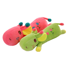 Cartoon Deers Toy Animals Dolls With Big Eyes Pink Plush Brinquedos Cute Pillow Peluches Grandes Toys For Children Girls 60G0555