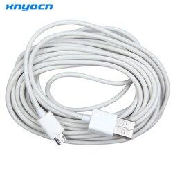 Xnyocn новый кабель 5 м Micro usb зарядный переходник Кабель для передачи данных для samsung телефон белый для LG xiaomi