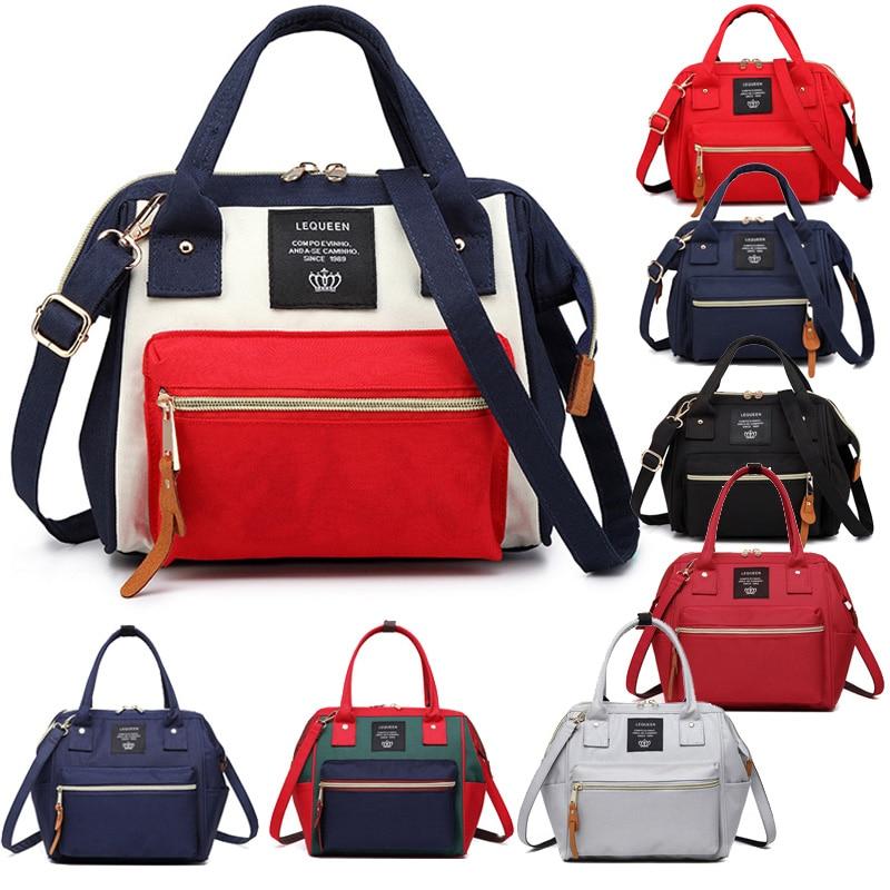 Nappy Bag Fashion Mummy Maternity Nappy Sling Bag Large Capacity Baby Travel Backpack Designer Nursing Bag For Baby Care