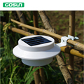 3 led Solar power lamp outdoor led lighting IP65 proof 6V 0.5W high brightness warmwhite/cold white Free shipping