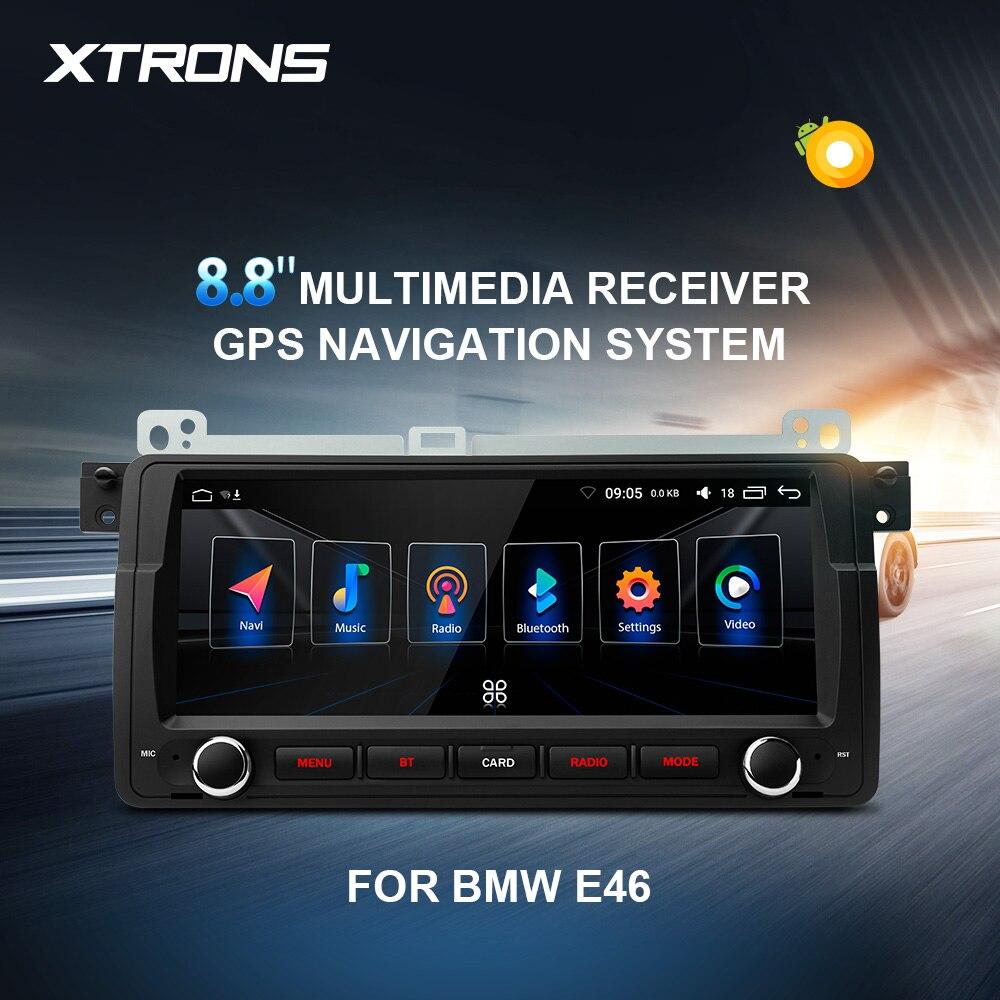 XTRONS 8.8 '' Android 8.0 Car Multimedia Player GPS NO DVD for BMW E46 Sedan Rover 75 1999 2000 2001 2002 2003 2004 2005 MG ZT