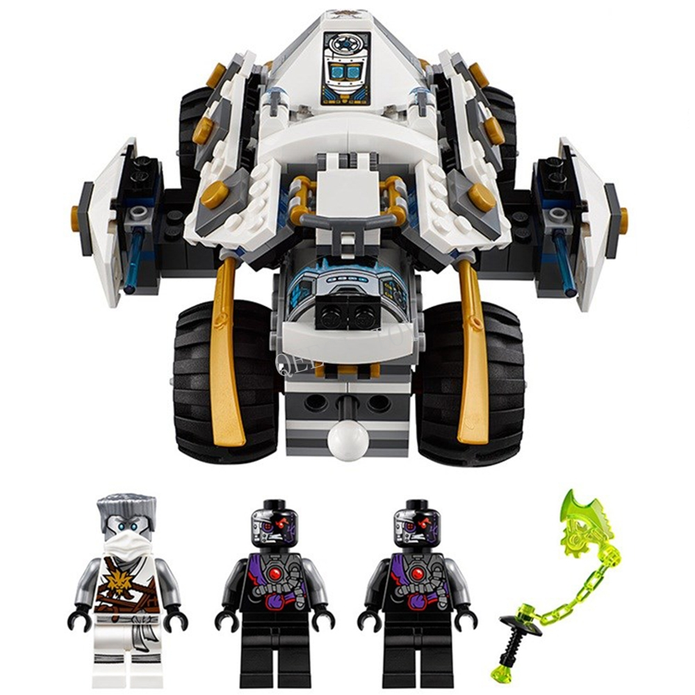 2016 New LEPIN 06040 371Pcs Ninjagoed Tumbler Model Building Kits Minifigure Blocks Bricks Toys