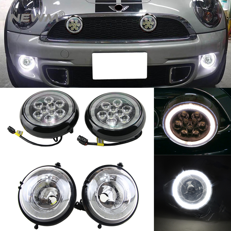 E4 R87 Led DRL Led Rally Light For Mini Cooper R55 Clubman R57 Convertible R58 Coupe