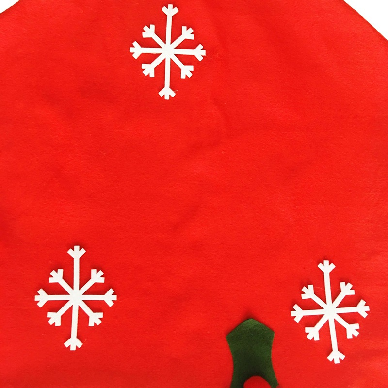1PC New Style Snowflake Red Hat Christmas Dining Room Chair Cover Seat Back Coat Home Party Decor Xmas Table Accessory In From Garden