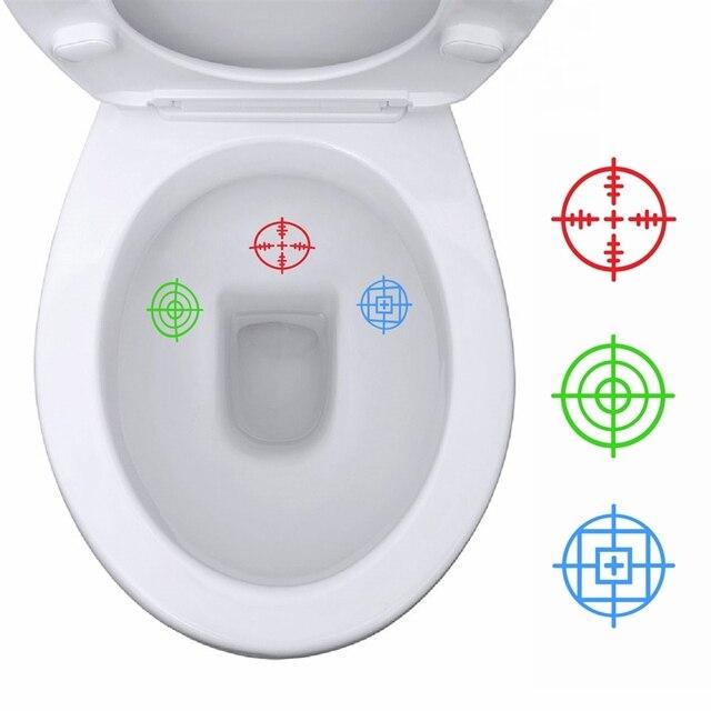 3 قطعة Tinkle الأهداف الفينيل ملصقات ملصق المرحاض ديكور لعبة الجندي قعادة التدريب الشارات للأطفال الأولاد المرحاض الديكور