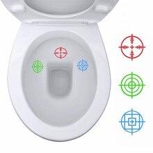 3 pçs tinkle alvos adesivos de vinil decalque toalete decoração de brinquedo soldado treinamento potty decalques para crianças meninos higiênico decoração