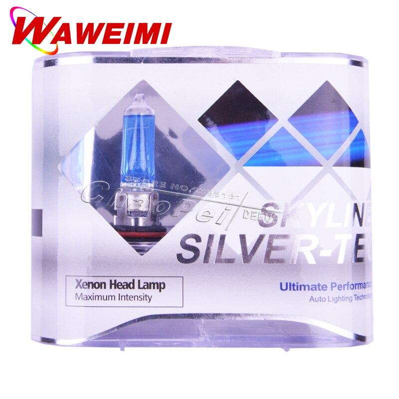 4 PCS Halogen Lamp Bulb 9005 12V 6000K HB3 Light Kits Auto Replacement Part External Lights Super Bright Foglight Signal Parking