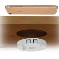 wireless charger 10w 7.5w embedded flushbonading stealth hidden QI general for samsung iphone Google Nokia Lumia LG huaweip