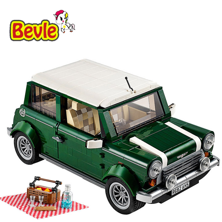 Bela 10568 Create Series Mini Cooper Camper Model Building Kit Blocks Bricks Toy Gift 21002 revell mini cooper