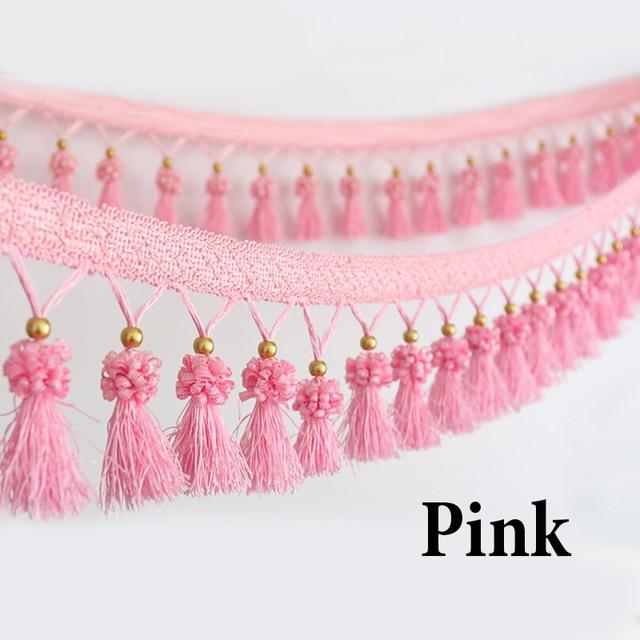 11 meter curtain lace accessories tassel fringe trim luxury curtain ...